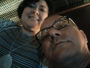 Tânia Canedo e seu esposo Jadson