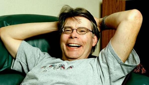 Stephen King , o Mestre do Terror, gente boa como ele só