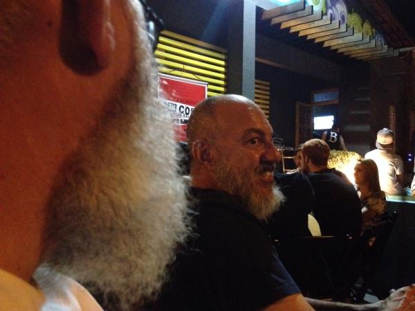 Eládio Garcia e a barba branca do Perini